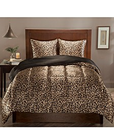 Luxury Satin Reversible 3-Pc. Full/Queen Comforter Set