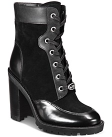 Women's Hedy Lace-Up Booties
