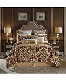 Julius 4 Piece King Comforter Set