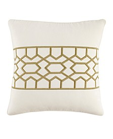 Tommy Bahama Canyon Palms Embroidered Throw Pillow