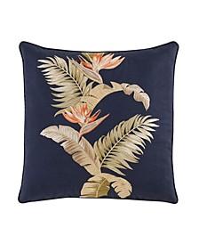 Tommy Bahama San Jacinto Embroidered Throw Pillow