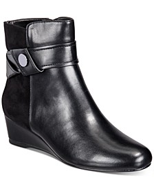 Gratia Wedge Booties (Created for Macy's)