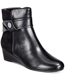 Impo Gratia Wedge Booties