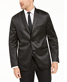 Men's Classic-Fit Micro Geometric Velvet Sport Coat, Created For Macy's