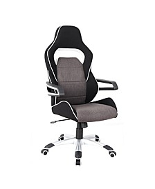 Techni Mobili Ergonomic Racing Style Home Office Chair