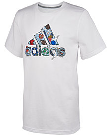 adidas Big Boy Graphic-Print Cotton T-Shirt