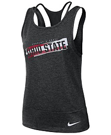 Nike Women's Ohio State Buckeyes Loose Racerback Tank Top