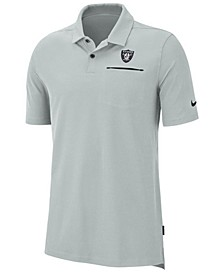 Men's Oakland Raiders Dry Elite Polo