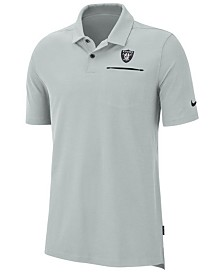 Nike Men's Oakland Raiders Dry Elite Polo