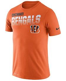 Nike Men's Cincinnati Bengals Sideline Legend Line of Scrimmage T-Shirt