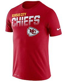 Men's Kansas City Chiefs Sideline Legend Line of Scrimmage T-Shirt