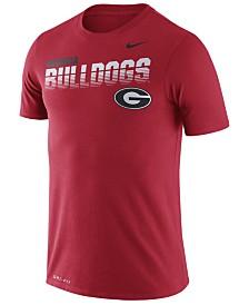Nike Men's Georgia Bulldogs Legend Sideline T-Shirt