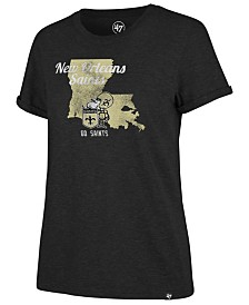 '47 Brand Women's New Orleans Saints State Love T-Shirt