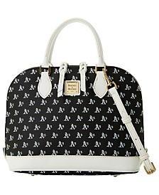 Dooney & Bourke Oakland Athletics  Zip Zip Satchel
