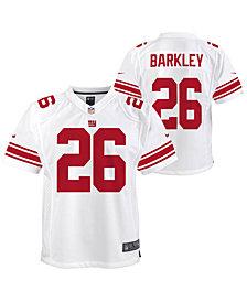 Nike Big Boys Saquon Barkley New York Giants Game Jersey