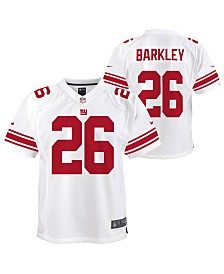 Nike Big Boys Saquon Barkley New York Giants Game Jersey