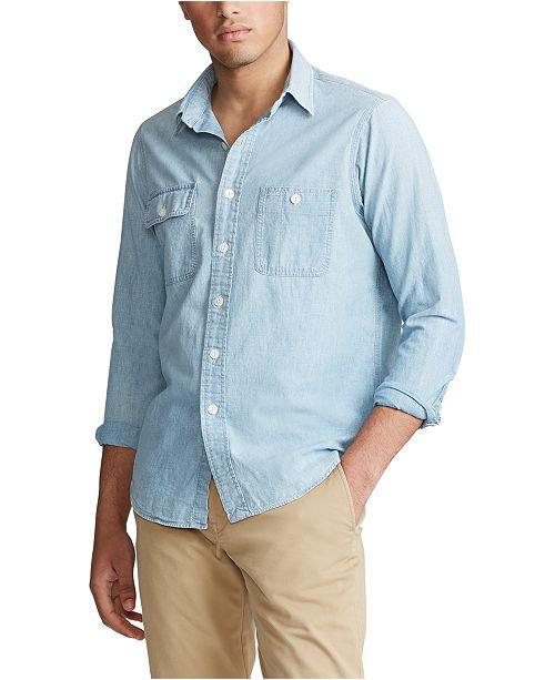 Polo Ralph Lauren Men's Iconic Dungaree Workshirt