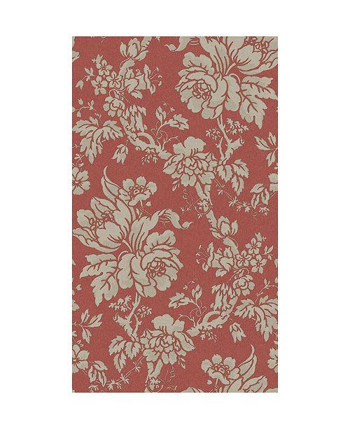 "Sirpi 20.5"" x 396"" Yara Floral Wallpaper"