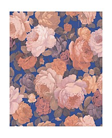 "20.5"" x 396"" Lady Floral Wallpaper"
