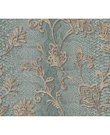 "Brewster 21"" x 396"" Puglia Light Python Arabesque Wallpaper"