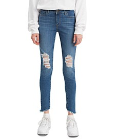 710 Distressed Skinny Jeans