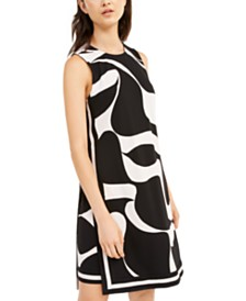 Trina Turk Printed Sleeveless Dress