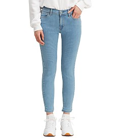 Levi's® 710 Striped Super Skinny Jeans