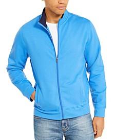 Men's Regular-Fit Stretch Full-Zip Tech Fleece Sweatshirt, Created For Macy's
