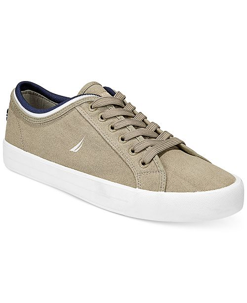 Nautica Men's Everyday Casual Canvas Sneakers