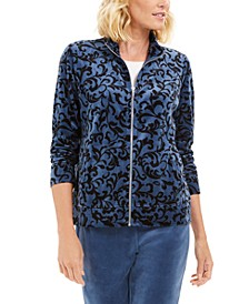 Printed Jacket, Created For Macy's