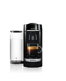 Black VertuoPlus Deluxe Coffee and Espresso Machine by De'Longhi