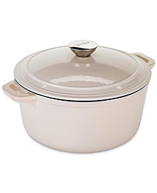 5-Qt. Enameled Cast Iron Dutch Oven, Created For Macy's