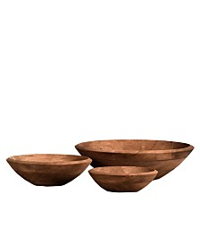 Villa 2 Accent Bowl Set of 3 in Vintage-Inspired Finish