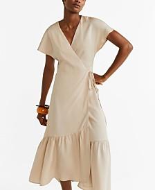 Mango Ruffled Dress