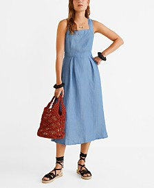 Mango Soft Denim Dress