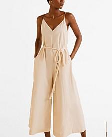 Cotton Long Jumpsuit