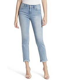 Junior Arrow Straight Ankle Jeans