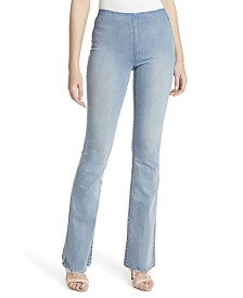 Jessica Simpson Junior Pull On Flare Jeans