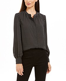 Dot-Print Blouse, Created For Macy's