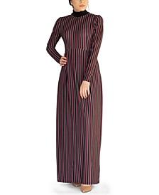 Siena Striped Maxi Dress