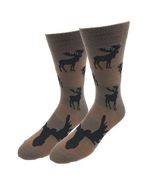 Sock Harbor Moose Pattern Socks