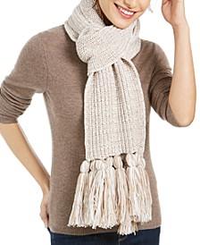 Chunky Knit Marled Scarf