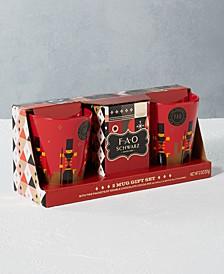 2-Pc. Nutcracker Mug & Cocoa Set
