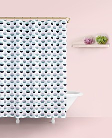 "Kate Spade New York Half Dot Cotton 72"" x 72"" Shower Curtain"