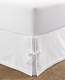 Laura Ashley Tailored Twin Bedskirt with Corner Ties