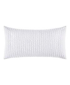 Laura Ashley Liana 14  X 26  Waffle Throw Pillow