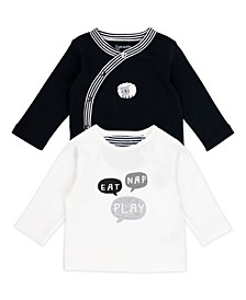 Baby Boy and Girl 2-Pack Long Sleeve Tees