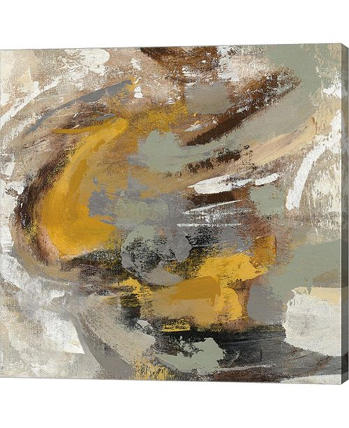 "Metaverse Amber Ring v2 by Silvia Vassileva Canvas Art, 24"" x 24"""