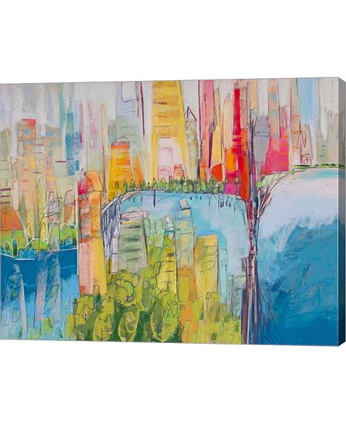 "Metaverse City 15 by Jennifer Gardner Canvas Art, 25"" x 20"""
