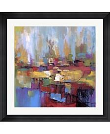 """Senza Titolo by Tebo Marzari Framed Art, 32"""" x 32"""""""